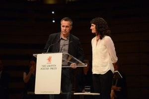 With Tomasz Rozycki at the Griffin Poetry Prize Reading